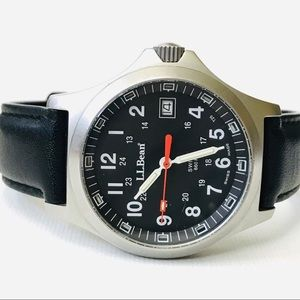 L.L.Bean Men's Field Watch Self Illuminating Watch